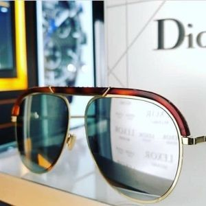 f336d5780741 Dior Accessories - Christian Dior DESERTIC Havana Silver Mirrored 2IK